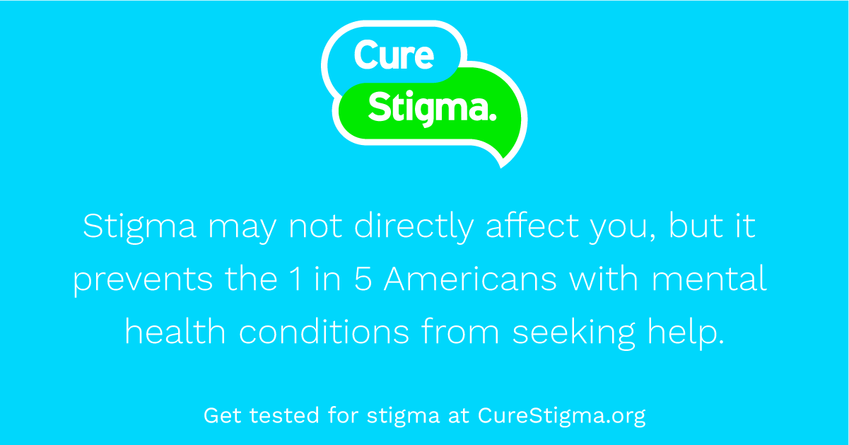 Cure Stigma Mental Health